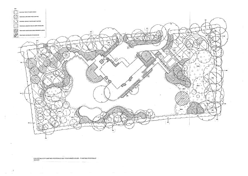 Arcadia Blog - The Walled Garden - Planting Plan 02