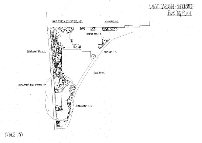 Arcadia Blog | Riverside Gardens | Planting Plan 2