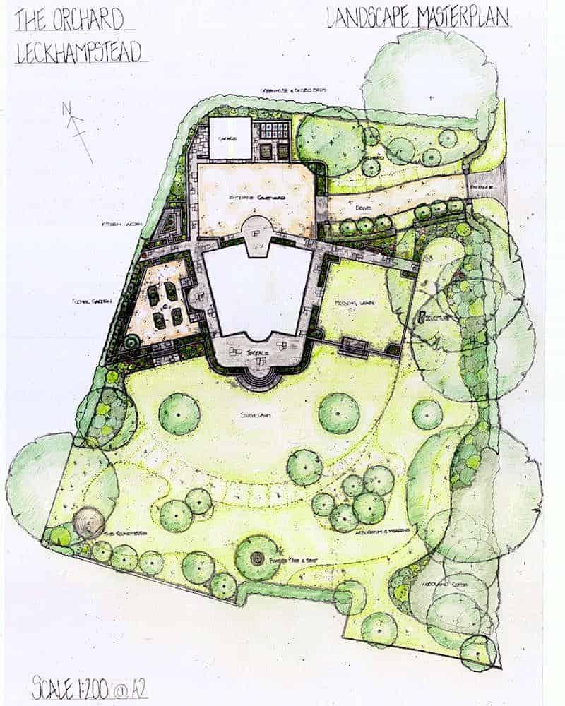 Arcadia Blog - The Orchard - Colour Plan